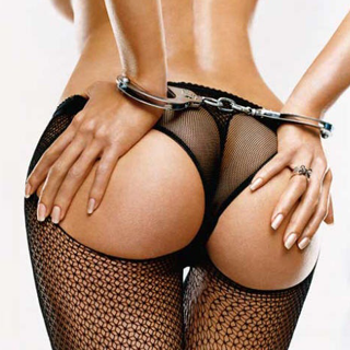 """""""Handcuffs and Bum""""  Nothing to do with the post, just a nice picture."""