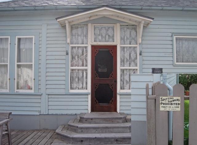 Skagway - Spitting Prohibited